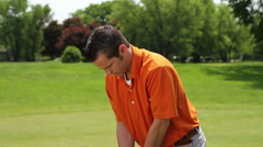 Golf swing Stock Footage