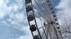 Big Wheel - Manchester UK - 03 Stock Footage