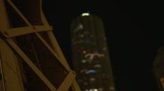 Urban Tower and Bridge - stock footage