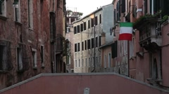 Venice canal (3) Stock Footage