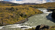 A river in Patagonia. Stock Footage