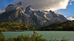 Torres Paine Patagonia Stock Footage