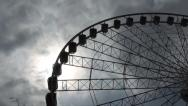 Big Wheel - at Manchester UK  Stock Footage