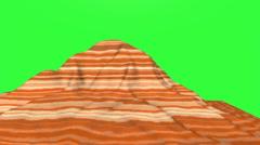 Mountain Chroma Key Stock Footage