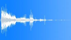 smash through wall 07 - sound effect