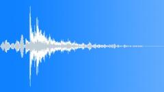 Metal door reverberant close 02 Sound Effect