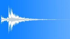 Metal door reverberant close 03 Sound Effect