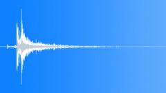 Metal door reverberant close 04 Sound Effect