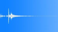 Metal door reverberant close 05 Sound Effect