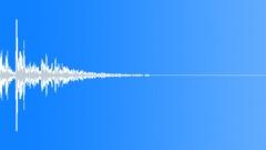 Metal door reverberant close 08 Sound Effect