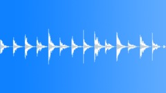 Footsteps running metal hardsole 01 loop Sound Effect