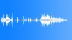 glass debris 08 - sound effect