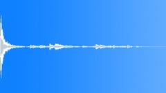saucer break 05 - sound effect