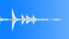 Bottle knock over 02 Sound Effect