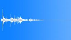 Silverware set down knife 06 Sound Effect