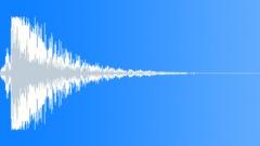 metal big impact 05 - sound effect