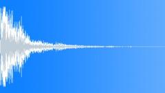 metal big impact 06 - sound effect