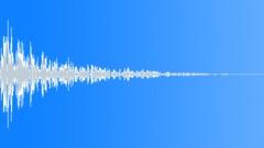 metal big impact 25 - sound effect