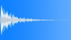 metal big impact 28 - sound effect