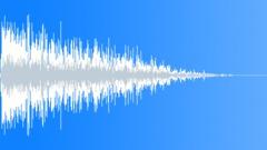 metal low bang 04 - sound effect