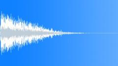 metal low bang 05 - sound effect