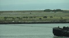 cliffingham-tugboat-ntsc - stock footage