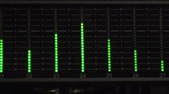 Cliffingham-audio levels-photojpeg-ntsc Stock Footage