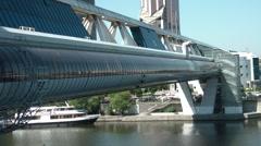 Bagration Bridge Stock Footage