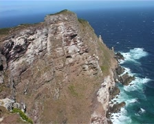 Cape Point Viewpoint, Cape Town GFSD Stock Footage