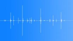Stock Sound Effects of bricks handling 02