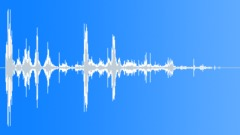 stone block impact debris 01 - sound effect