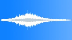 Stock Sound Effects of commercial jet flyby 01
