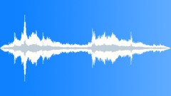 waves impact on rocks many 02 - sound effect