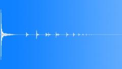 shotgun shell drop on wood 03 - sound effect