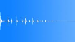 shotgun shell drop on wood 04 - sound effect