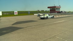 Motorsports, open wheel and SR cars race, #3 Stock Footage