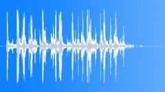 wood debris on dirt longer 02 - sound effect
