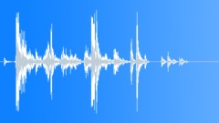 wood debris on wood 04 - sound effect