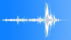 wood stress break 01 - sound effect