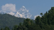 Stock Video Footage of Mount fishtail