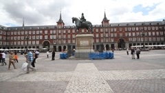 plazamayor1 - stock footage