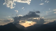 Stock Video Footage of Sunset time lapse