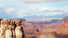 canyonlands utah rocks nature amazing - stock footage