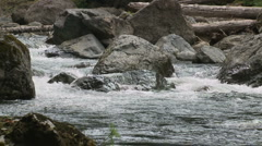 Snoqualmie River SF 06 Stock Footage