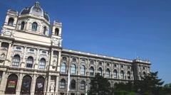 Austria, Vienna, Natural history Museum Stock Footage