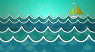 Stock Video Footage of Ocean Scene Loop HD