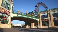 Austria, Vienna, Prater amusement park Stock Footage