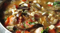 Caucasian cuisine - stock footage