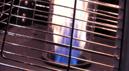 Stock Video Footage of Club Fire Heater