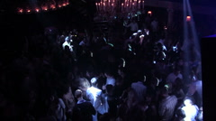 Club Top view1 Stock Footage